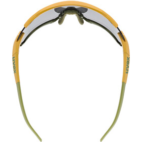 UVEX Sportstyle 228 Glasses mustard olive matt/mirror silver